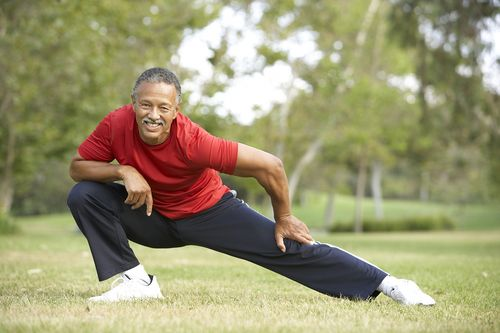 Senior-Man-Exercising-In-Park